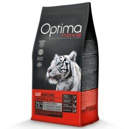 Optima Nova Cat Adult Mature Chicken & Rice