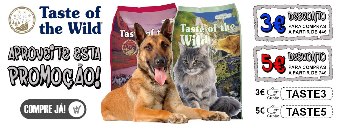 Promoção Taste of the Wild