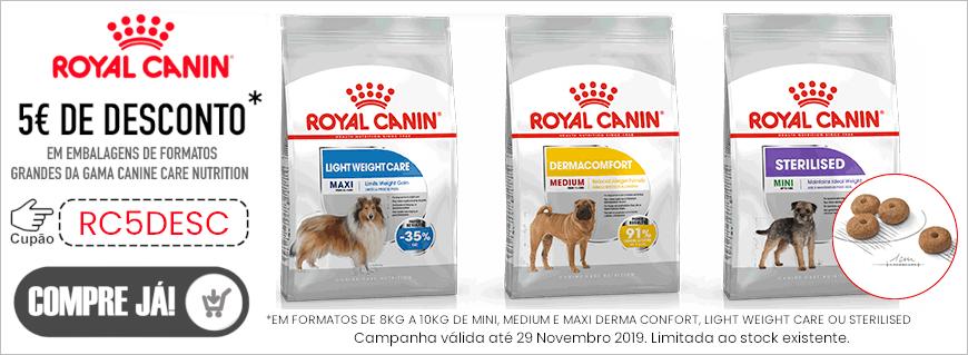 Promoção Royal Canin Dog